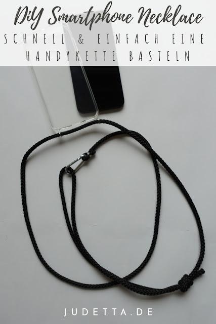 DIY Smartphone Necklace | Eine Handykette ganz einfach und günstig selber basteln | judetta.de
