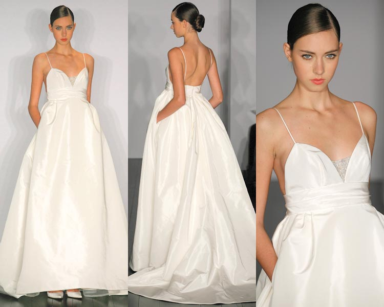 Just Bee Fashion: Hot Trend: Pocket Wedding Dress