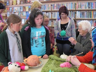 Sit & Knit Together for Bealtaine at Miltown Malbay Library #2