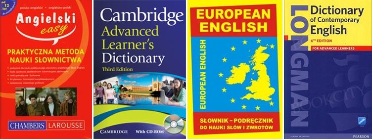 słowniki do nauki angielskiego