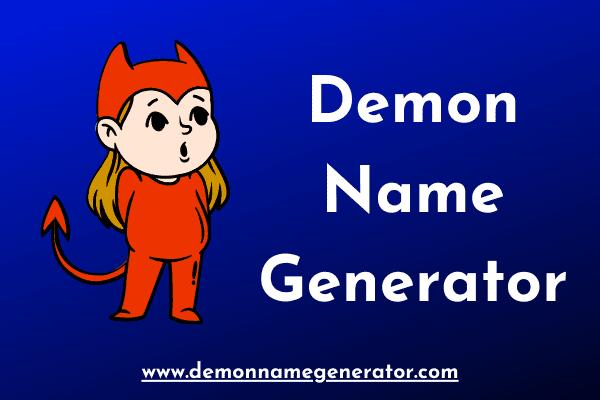 Demon Name Generator