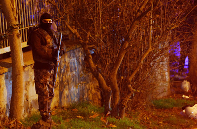 Las fuerzas antiterroristas turcas fueron desplegadas por Estambul. Foto: Reuters.