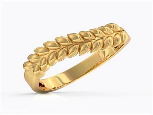 خواتم ذهب رقيقه جدا 4 | Simple gold rings 4