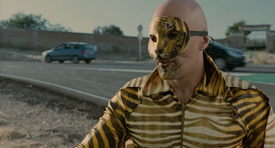 The Skin I Live In 2011 film Pedro Almoldovar screenshot zeca tiger costume