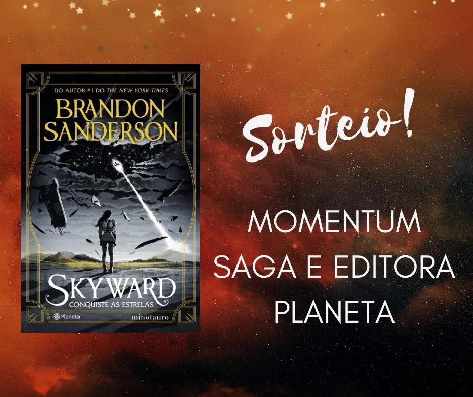 SORTEIO: Momentum Saga e Editora Planeta!