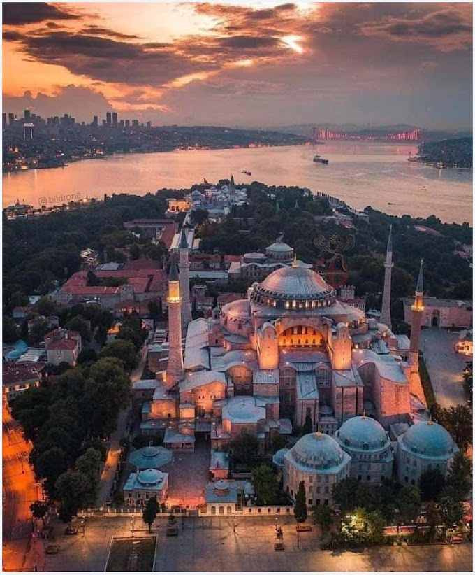 Ο Ναός της του Θεού Σοφίας στην Κωνσταντινούπολη
