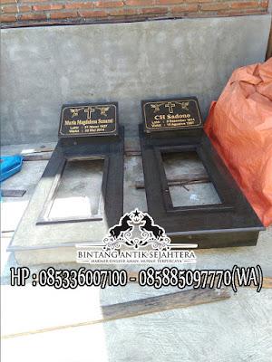 Model Kuburan Kristen Terbaru, Makam Granit Kristen, Makam Kristen Minimalis