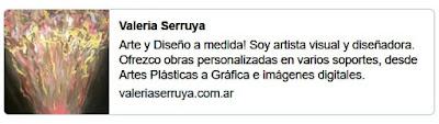 Sitio Web de Valeria Serruya, Arte y Diseño a medida