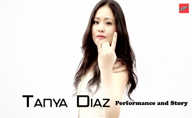 Team Bamboo: Tanya Diaz Performance and Story The Voice of the Philippines Season 2 February 14, 2015
