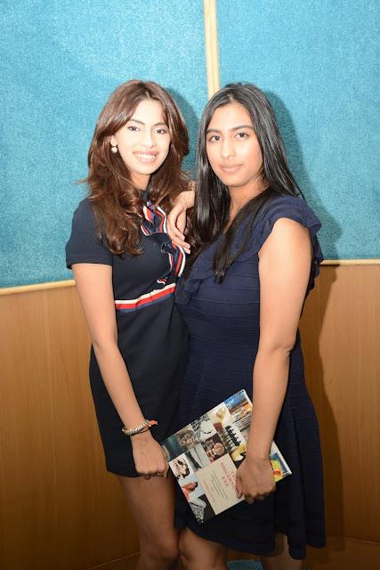 Arushi Kapoor with Ayesha Kapoor