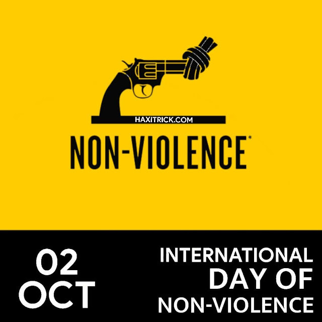 International Day Of Non Violence 2 October 2020
