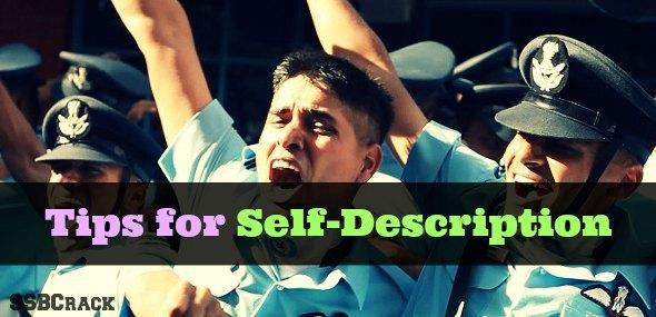 Tips for Self Description
