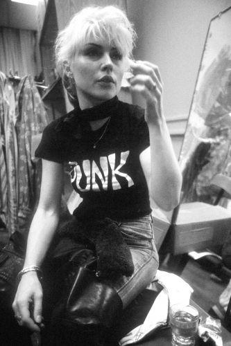 Blondie Debbie Harry PUNK t-shirt.  PYGear.com