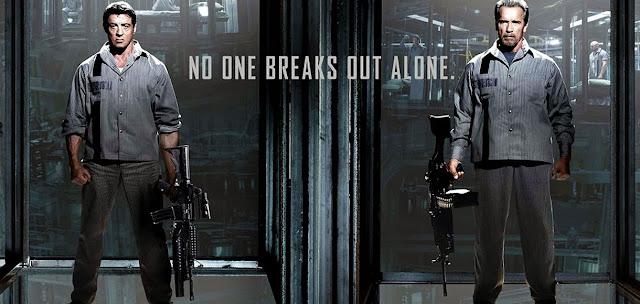 Arnold si Stallone in filmul Escape Plan