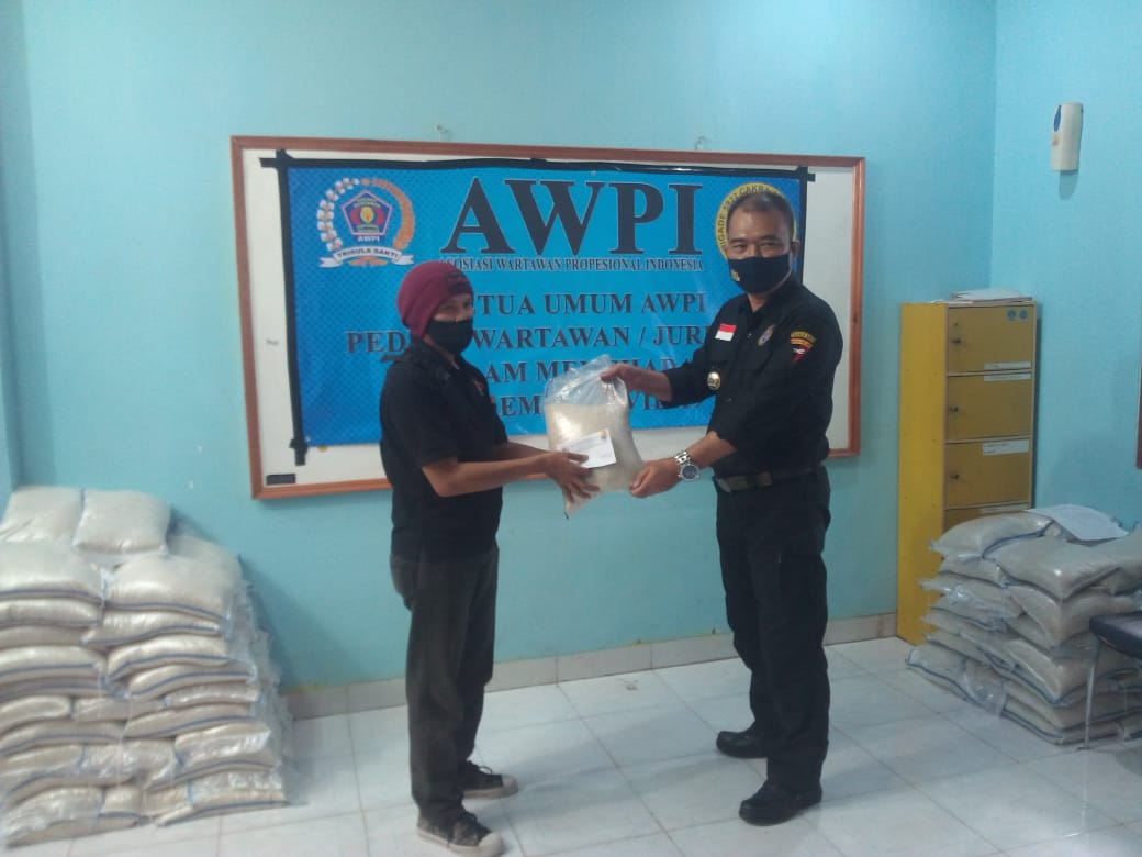 Ketua Umum AWPI Jurnalis dan Masyarakat Yang Terdampak Covid-19
