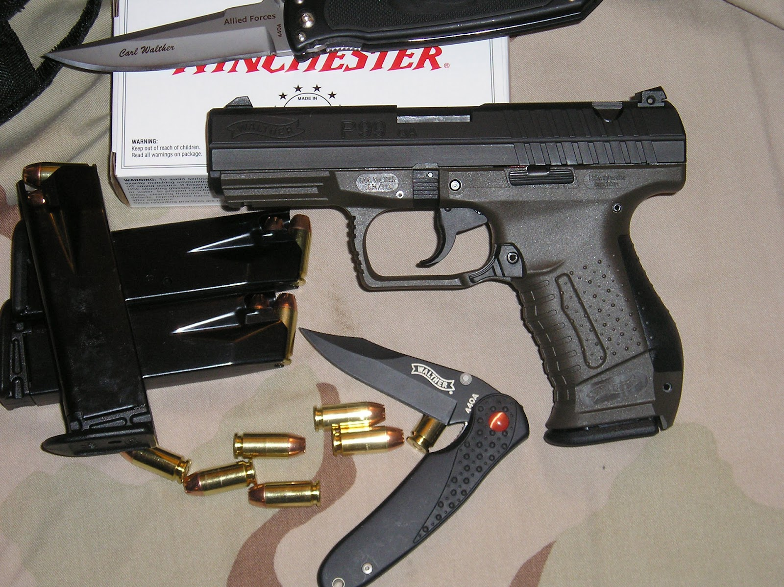 Weapons  Walther...P99