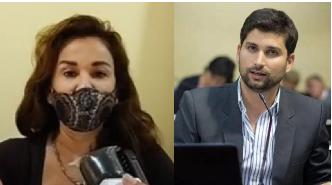 La diputada Acosta y el diputado Lara a favor de un hospital de autogestión
