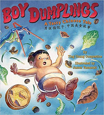 10+ Awesome Asian Food Inspired Picture books and directions for a cupcake liner dumpling preschool craft