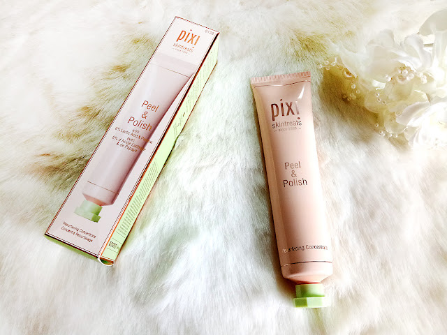 Pixi beauty, pixi by petra, pixi skintreats, pixi peel and polish, skincare, beauty, beauty blog, makeup, makeup blog, chemical peel, top beauty blog of pakistan, red alice rao, redalicerao