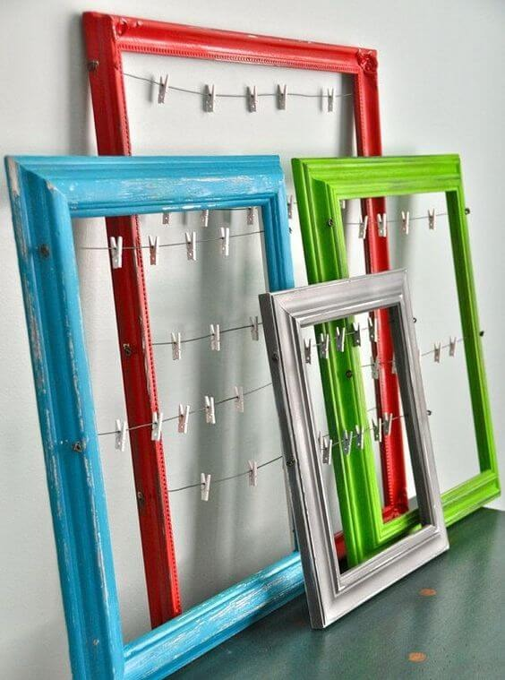 Easy crafts to do with colored frames