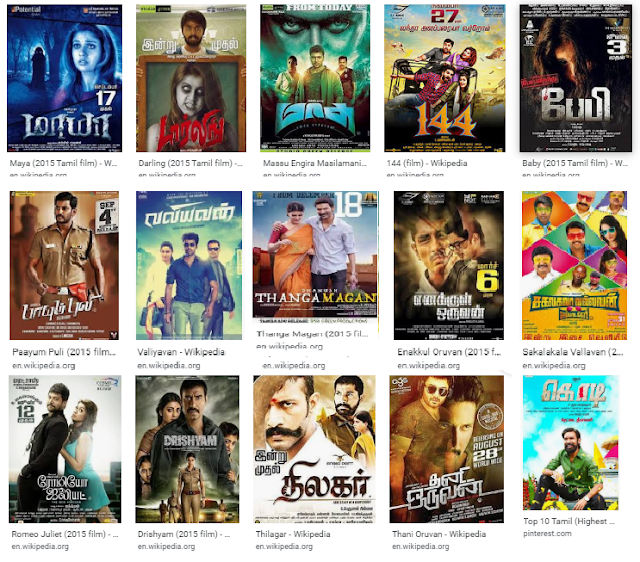 2015 Tamil Movies Hit And Flop List