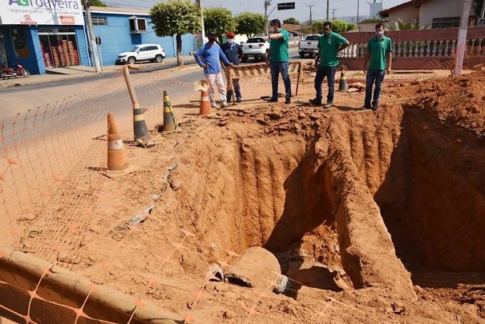 Obras serão interrompidas temporariamente em razão do período eleitoral.