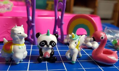 DIY SO MAGIC garden animals llama panda swan