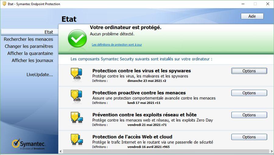 Symantec Endpoint Protection 14.3 RU2 version 4615 (14.3.4615.2000)
