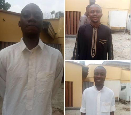 Yahoo Boys Who Pretended To Be In Love To Carry Out Romance Scam Land In Ilorin Jail