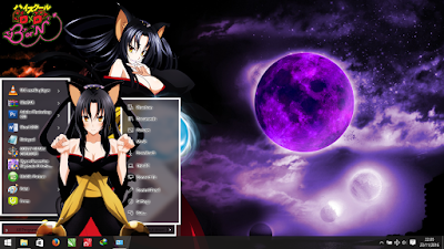 Theme Windows 10 Kuroka Highschool DxD 1