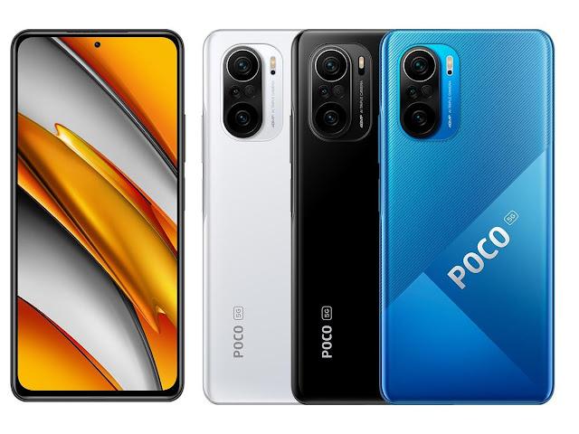 Xiaomi Poco F3 (8/256) | Meilleur Prix Maroc | Caractéristique et Fiche technique