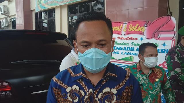 Ketua DPRD Bartim Sampaikan Selamat Kepada Ketua PN Tamiang Layang Yang Baru dan Yang Lama