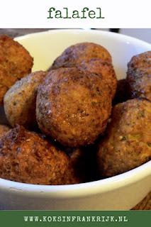 Recept voor zelfgemaakte falafel