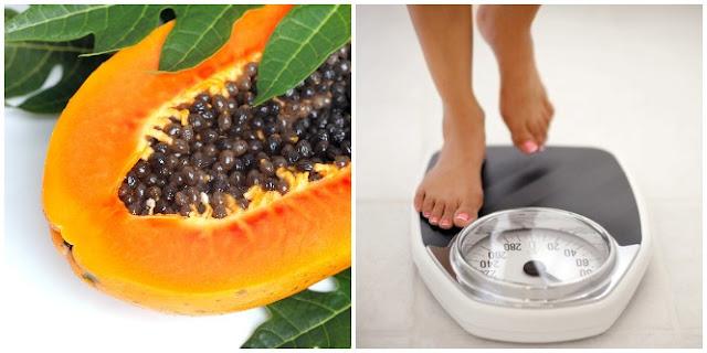 papaya lose weight fast