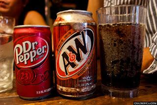 Mama Chit's Marikina, dr. pepper, a&w, drinks, softdrinks