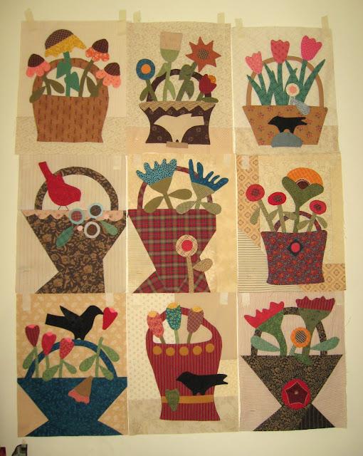 Baskets of Plenty for Cheri Payne's quilt-along