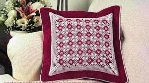 Almohadón / Cojín en Crochet * Moldes y patrones
