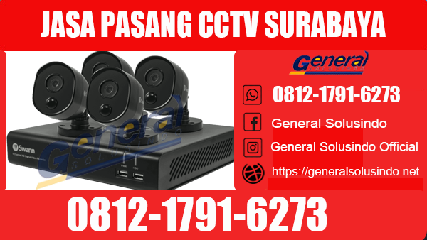 Jasa Pasang CCTV Tenggilis Mejoyo Surabaya