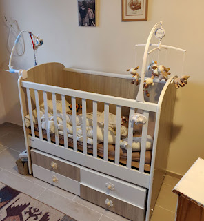 Saying goodbye to the old cot