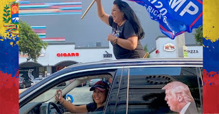 Liliana y Lilibeth morillo hacen campaña a favor de Donald Trump