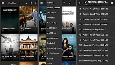 Tampilan Aplikasi Terrarium TV v1.8.0 Mod Apk Premium