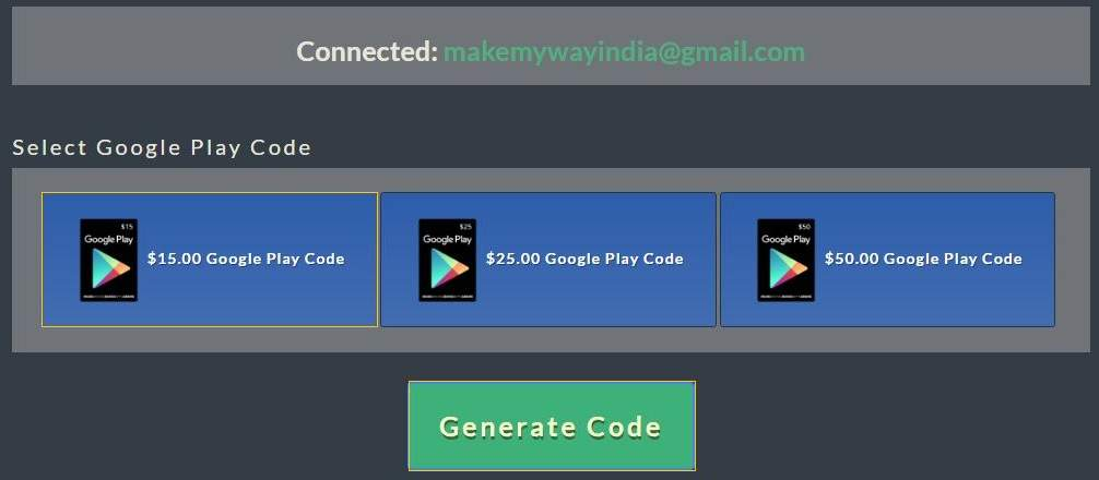 Google Play Free Gift Card Generator Redeem Codes 2021 Makemyway