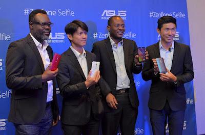 Asus zenfone selfie launched in NIgeria