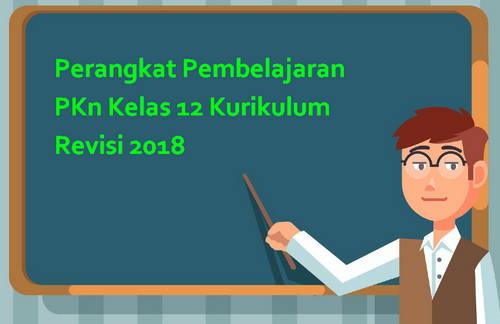 Perangkat Pembelajaran PKn Kelas 12 Kurikulum Revisi 2018