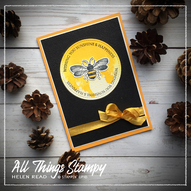 Stampin Up Honey Bee Helen Read Allthingsstampy