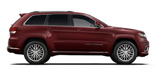 2017 Jeep Grand Cherokee Color: Red