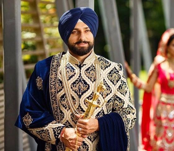 Wedding Groom navy blue Dress Punjabi  2020