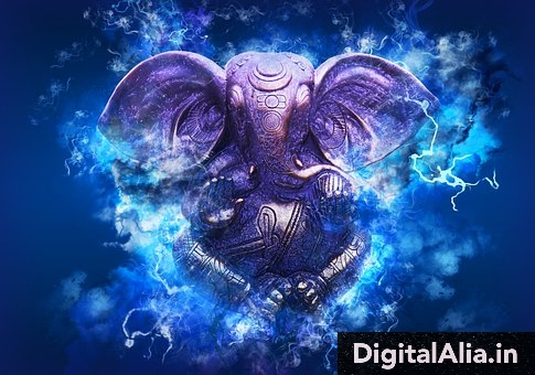 lord ganesha cute images