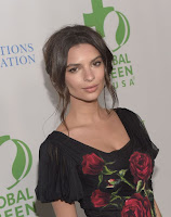 emily ratajkowski red carpet fashion dresses