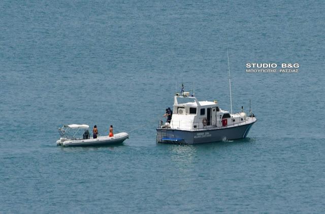 Πρόστιμο από το Λιμεναρχείο Ναυπλίου για παράνομη αλιευτική δραστηριότητα